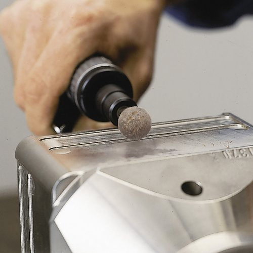 20 Stk.   Polierstift P5 Kugelform Fein 8x8 mm Schaft 3 mm Schaltbild