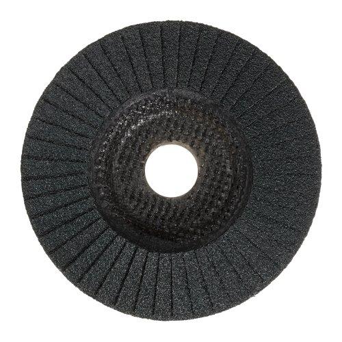 LUKAS Fächerschleifscheibe V4 MASTER universal Ø 125 mm Zirkonkorund Korn 60 schräg Produktbild