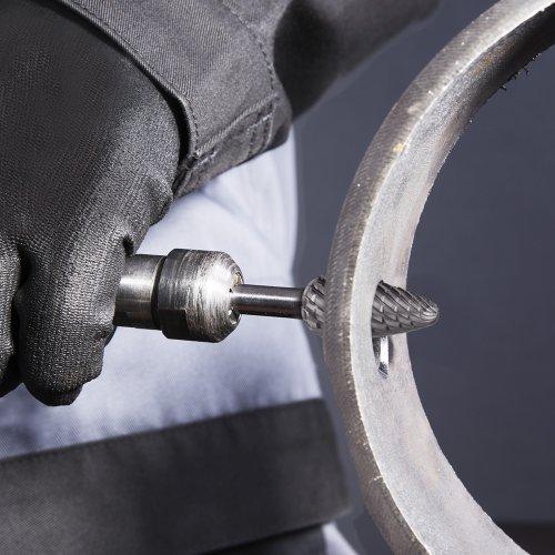 LUKAS Fräser HFF Rundbogenform für Edelstahl/Stahl 6x18 mm Schaft 6 mm  Schaltbild