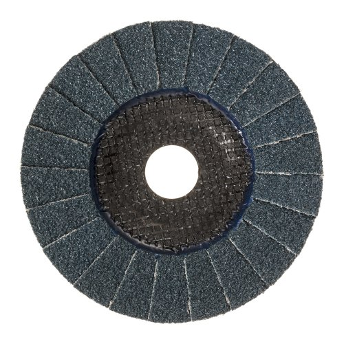 1 Stk. | Fächerschleifscheibe V2 POWER universal Ø 125 mm Zirkonkorund Korn 40 schräg Produktbild