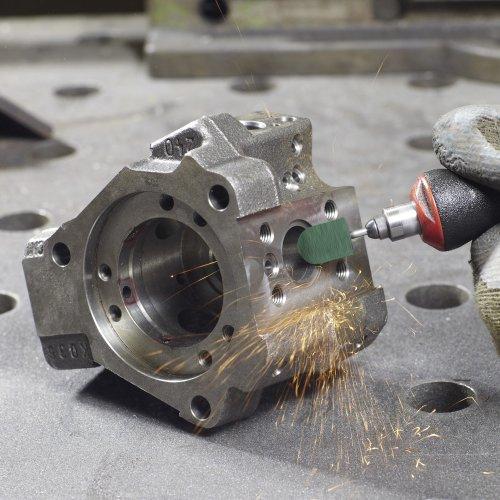 100 Stk. | LUKAS Schleifkappe SKWRS Walzenrundform universal 5x11 mm Spezialkorund Korn 150  Schaltbild
