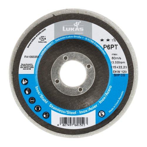 5 Stk. | Polierteller P6PT Ø 125 mm Fein für Winkelschleifer flach Kompaktkorn Artikelhauptbild