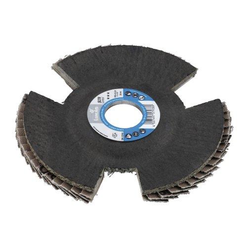 1 Stk. | Fächerschleifscheibe SLTR Control universal Ø 115 mm Zirkonkorund Korn 80 schräg Produktbild