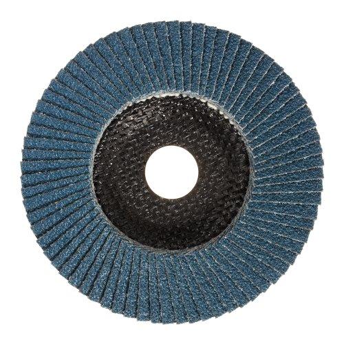 LUKAS Fächerschleifscheibe SLTR universal Ø 115 mm Zirkonkorund Korn 80 schräg Produktbild