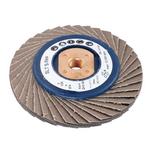 LUKAS Fächerschleifscheibe SLTs-flex universal Ø 100 mm Zirkonkorund Korn 40 flach M10 Produktbild