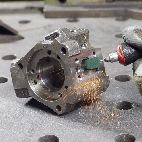 100 Stk. | LUKAS Schleifkappe SKZYS Zylinderform universal 10x15 mm Spezialkorund Korn 150  Schaltbild