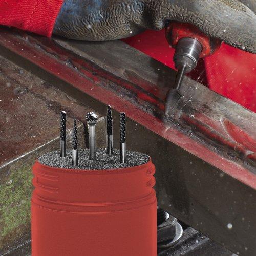 1 Stk. | Fräser-Set F5 universal 5-teilig Schaft 6 mm Schaltbild