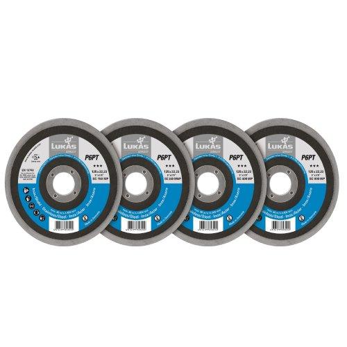 LUKAS Polierteller-Set P6PT Ø 125 mm 4-teilig für Winkelschleifer flach  Artikelhauptbild