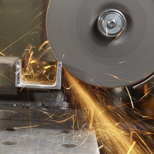 LUKAS Trennscheibe T41 für Edelstahl Ø 125x1,0 mm gerade | für Winkelschleifer Schaltbild
