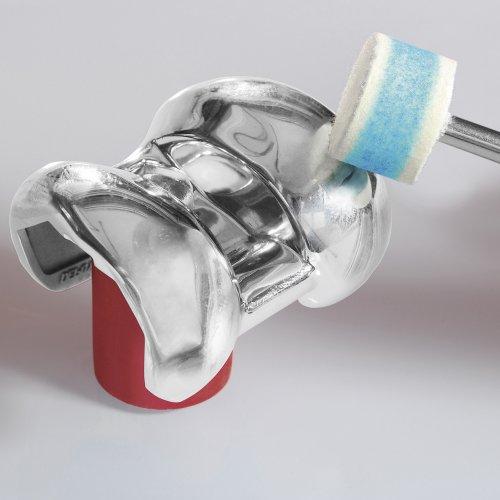 10 Stk.   Polierscheibe P3S1 40x10 mm Bohrung 6 mm Filz für Polierpaste Schaltbild