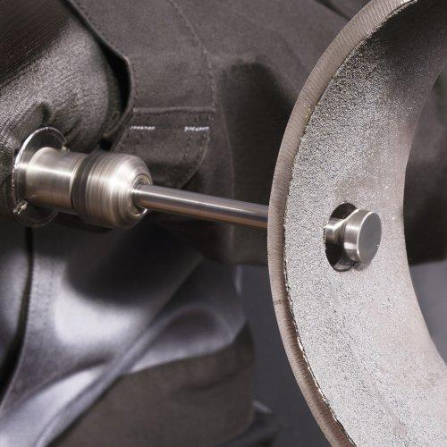 LUKAS Fräser HFT für Edelstahl/Stahl Rückwärtsentgrater 5x4 mm Schaft 3 mm  Schaltbild
