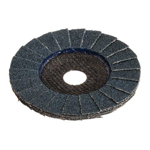 1 Stk. | Fächerschleifscheibe V2 POWER universal Ø 115 mm Zirkonkorund Korn 40 schräg Produktbild