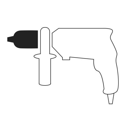 10 Stk. | Pinsel-Drahtbürste BPSW universell 10x20 mm für Bohrmaschinen gewellt Abb. Ähnlich