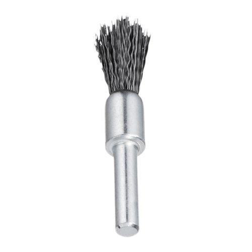 10 Stk. | Pinsel-Drahtbürste BPSW universell 30x25 mm für Bohrmaschinen gewellt Produktbild