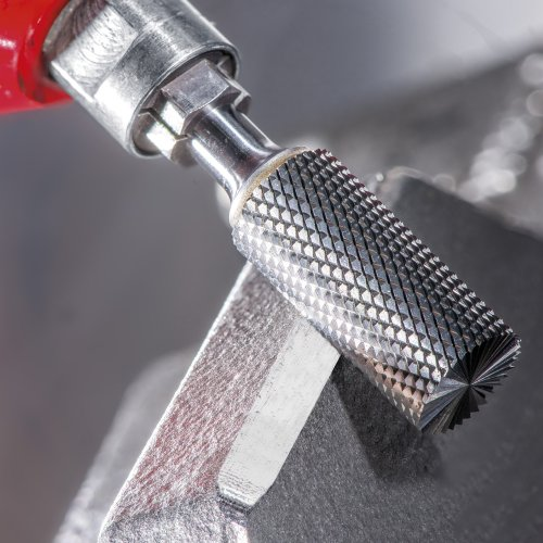LUKAS Fräser HFAS Zylinderform für gehärtete Stähle 6x16 mm Schaft 6 mm m. Stirnverzahnung  Schaltbild