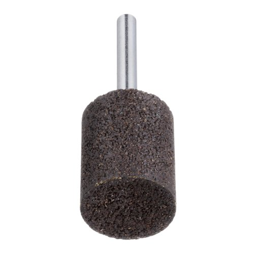 20 Stk. | LUKAS Schleifstift ZY Zylinderform für Werkzeugstähle 50x25 mm Schaft 8 mm Korn 24  Produktbild
