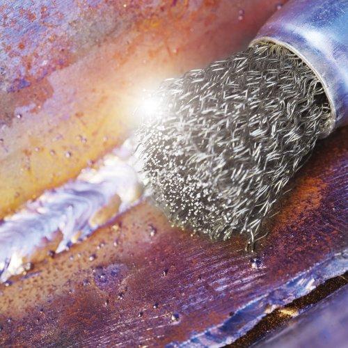 10 Stk. | Pinsel-Drahtbürste BPSW universell 10x20 mm für Bohrmaschinen gewellt Schaltbild
