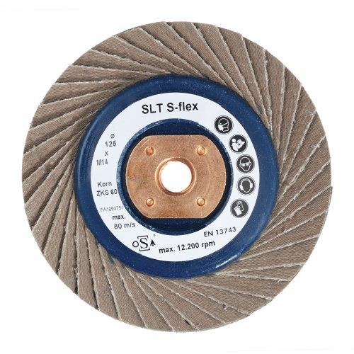 LUKAS Fächerschleifscheibe SLTs-flex universal Ø 100 mm Zirkonkorund Korn 40 flach M10 Artikelhauptbild
