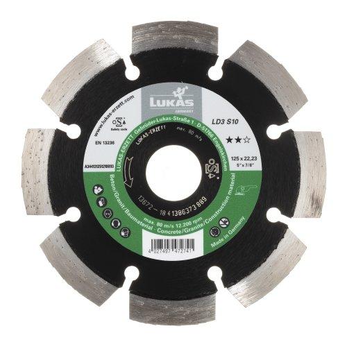 LUKAS Diamanttrennscheibe LD3 S10 für Stein/Beton/Asphalt Ø 125 mm für Winkelschleifer  Artikelhauptbild