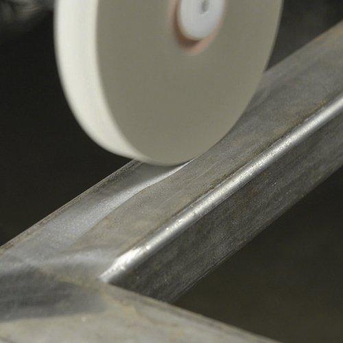 1 Stk. | Polierscheibe P6SE1 universal Medium 150x10 mm Bohrung 25 mm Kompaktkorn Schaltbild