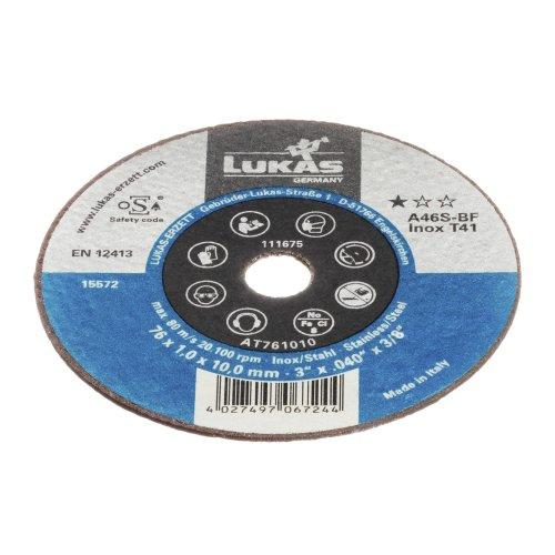 1 Stk. | Trennscheibe T41 für Edelstahl Ø 76x1,0 mm gerade | für Winkel- & Geradschleifer Produktbild