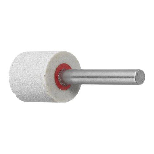 10 Stk.   Polierstift P6ZY Zylinderform Fein 20x20 mm Schaft 6 mm Edelkorund Produktbild