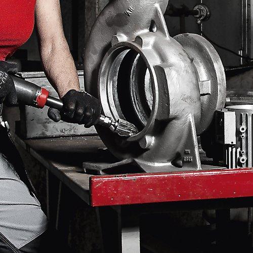 LUKAS Fräser HFF Rundbogenform für Guss 6x18 mm Schaft 6 mm  Schaltbild