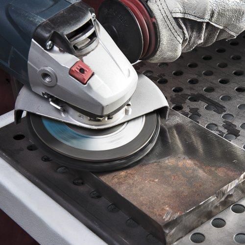 5 Stk. | Polierteller P6PT Ø 125 mm Medium für Winkelschleifer flach Siliciumcarbid Schaltbild