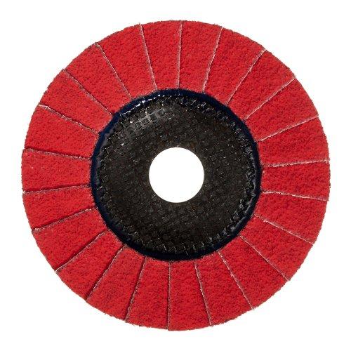 1 Stk. | Fächerschleifscheibe V2 POWER universal Ø 125 mm Ceramic Korn 60 schräg Produktbild