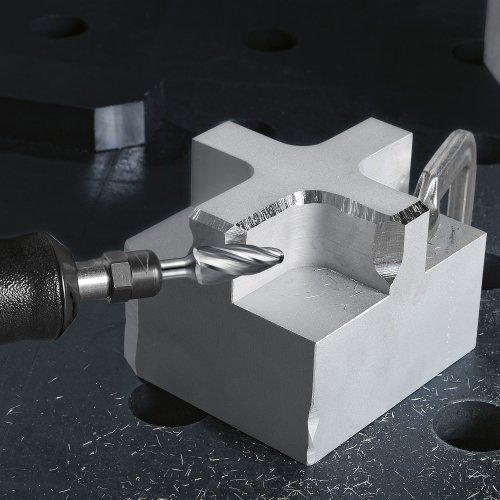LUKAS Fräser HFF Rundbogenform für Alu 12x25 mm Schaft 6 mm  Schaltbild