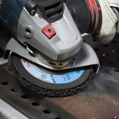 1 Stk.   Reinigungsvlies ASVT universal Ø125 mm für Winkelschleifer Schaltbild