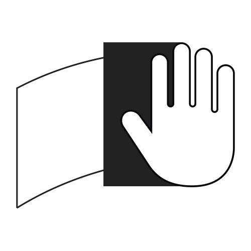 5 Stk. | Rutscherstein RU 5 | 150x20x16,5 mm Edelkorund Abb. ähnlich
