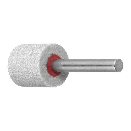 10 Stk. | Polierstift P6ZY Zylinderform Medium 13x20 mm Schaft 3 mm Edelkorund Produktbild