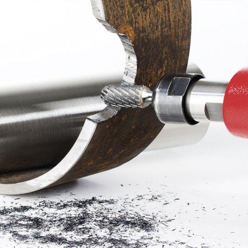 LUKAS Fräser HFC Walzenrundform für Edelstahl/Stahl 12x25 mm Schaft 6 mm  Schaltbild
