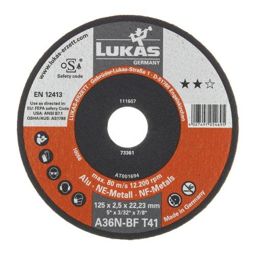 LUKAS Trennscheibe T41 für Alu Ø 115x1,0 mm gerade | für Winkelschleifer Artikelhauptbild
