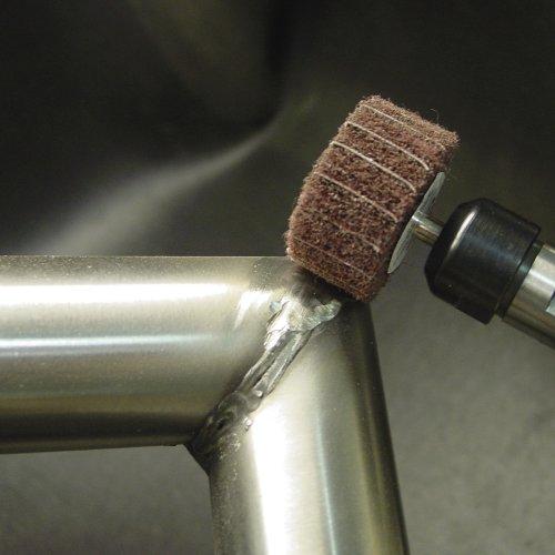 10 Stk. | LUKAS Fächerschleifer SFM universal 60x30 mm Schaft 6 mm Korund Korn 106/150  Schaltbild