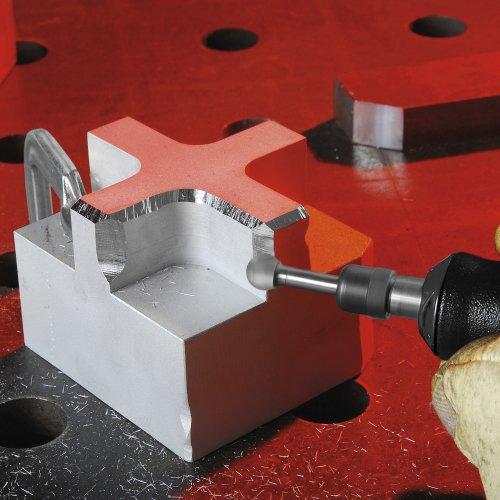 1 Stk. | Fräser HFD Kugelform für Alu 12x10 mm Schaft 6 mm Schaltbild