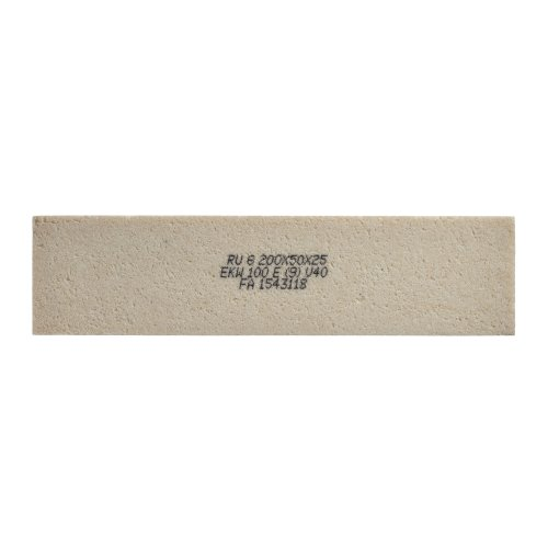 5 Stk. | Rutscherstein RU 5 | 150x20x16,5 mm Edelkorund Produktbild