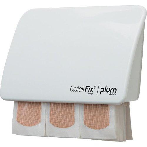 Plum Pflasterspender UNO Quickfix,weiß ( 1x45 Plf.)