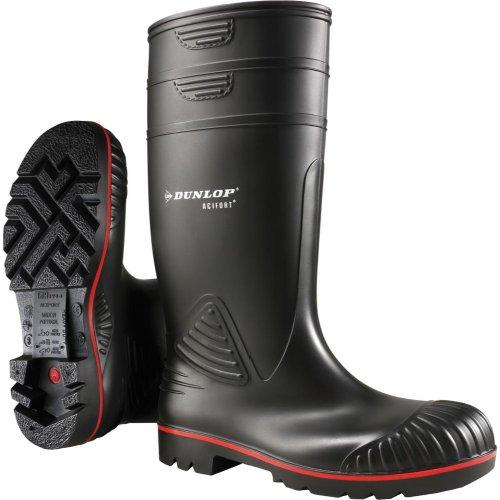 Dunlop Bau-Stiefel Acifort, S5, Gr.43,schwarz