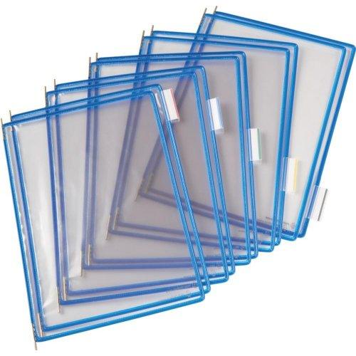 Tarifold Sichttafel A4 blau Pckg. a 10 Stück
