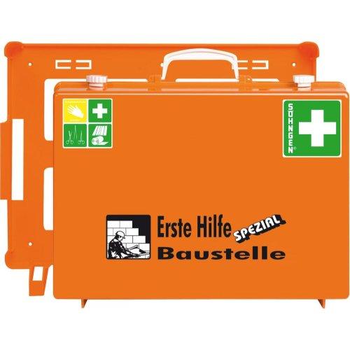 Söhngen ErsteHilfe-Koffer Spezial MT-CD Baustelle, orange