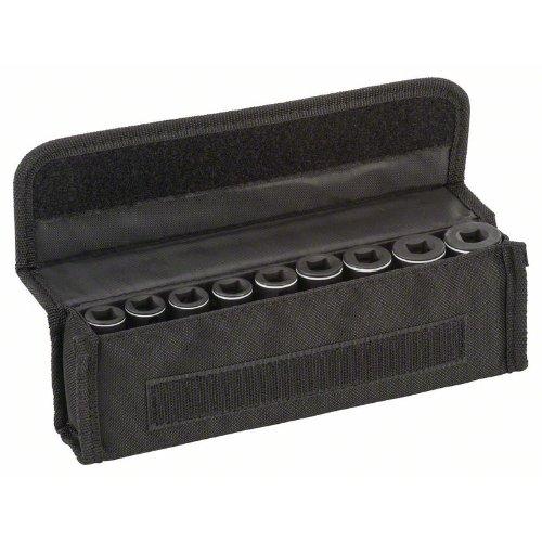 Steckschlüsseleinsätze-Set, 9-teilig, L 63 mm, SW 7 - SW 19