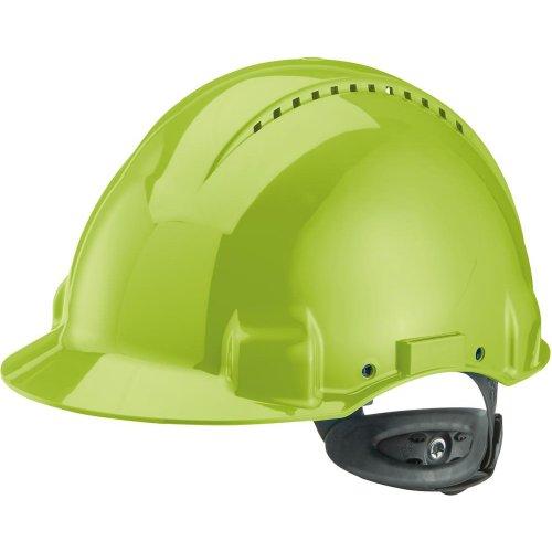 3M Peltor Schutzhelm G3000N,ABS, Ratschensystem, neongrün