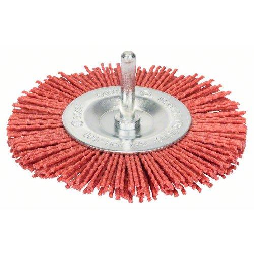 Scheibenbürste, Nylon mit Korund, 100 mm, 1 mm, 8 mm, 4500 U/ min