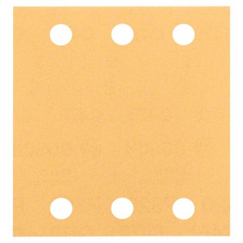 Schleifblatt C470, 115 x 107 mm, 120, 6 Löcher, Klett, 10er-Pack