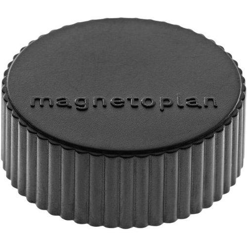 magnetoplan Magnet D34mm VE10 Haftkraft 2000 g schwarz