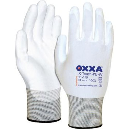 OXXA Montagehandschuh X-Touch PU-W(Pck.a 3 Paar),Gr.10