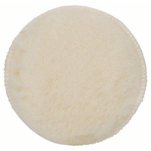 Lammwollhaube für Exzenterschleifer, 130 mm, Klett, 1er-Pack