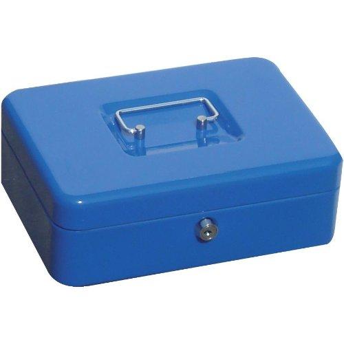 Geldkassette, blau, 25 250x180x90